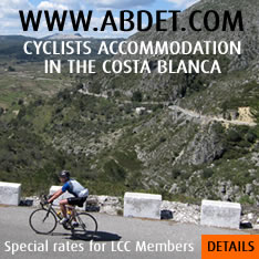 Cyclists Accommodation in Spain